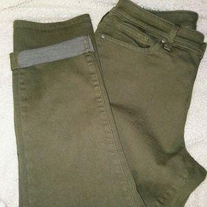 A.n.A. Olive Khaki Jeans